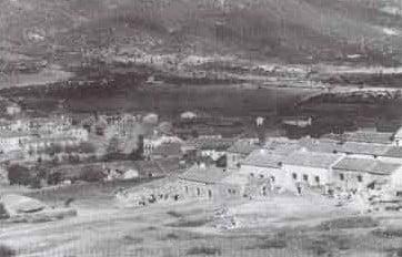 Panorámica del pueblo año 1958