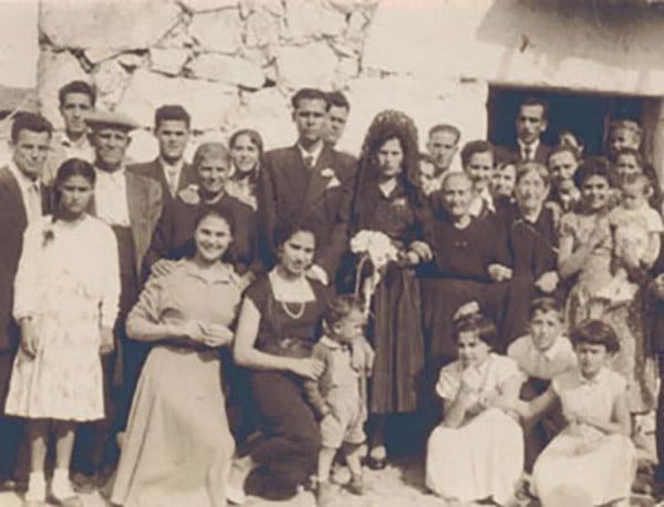 Boda de Poli con toda la familia