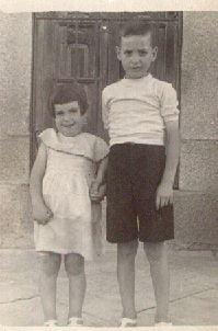 Ángel y María. Año 1952