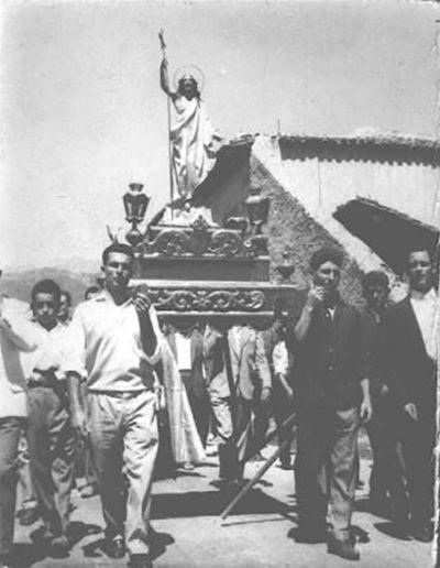 Procesión de El Salvador 1960