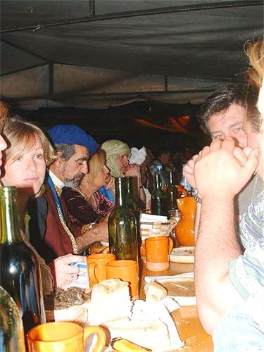 Cena en el Castillo-Medieval 2005