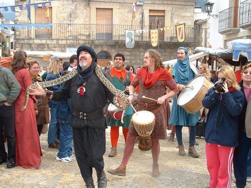 III Mercado medieval de La Adrada. La fiesta