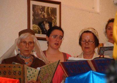 Madrigales en el Medieval 2004