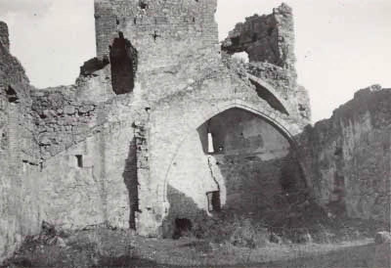 El Castillo, ayer
