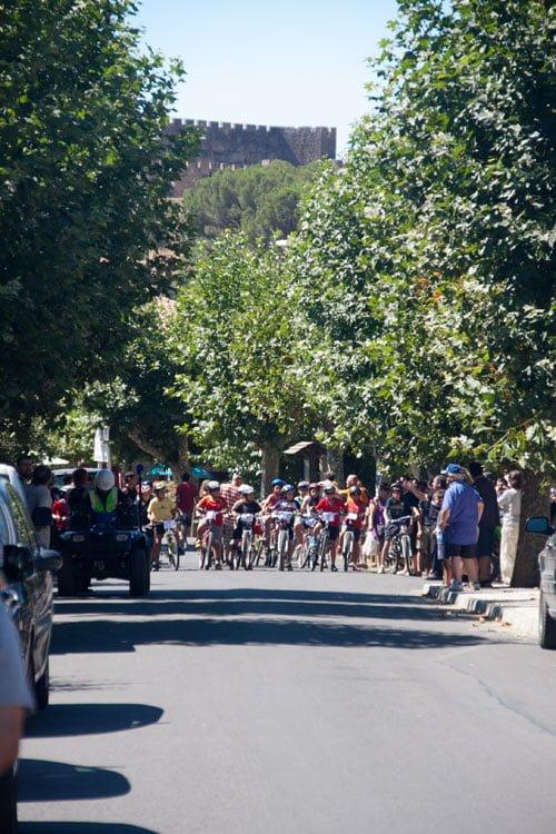 Alta participación en la segunda ciclomarcha de La Adrada