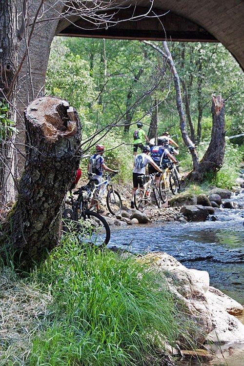 Espectacular Fiesta de la Bicicleta en La Adrada