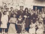 Boda de Poli con familia
