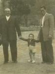 El abuelo Juan Lanchas, Fausto y Faustino. Años 50.